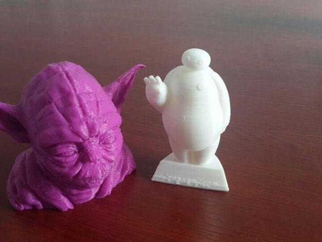 超能陆战队大白胖子玩偶 3D打印图片