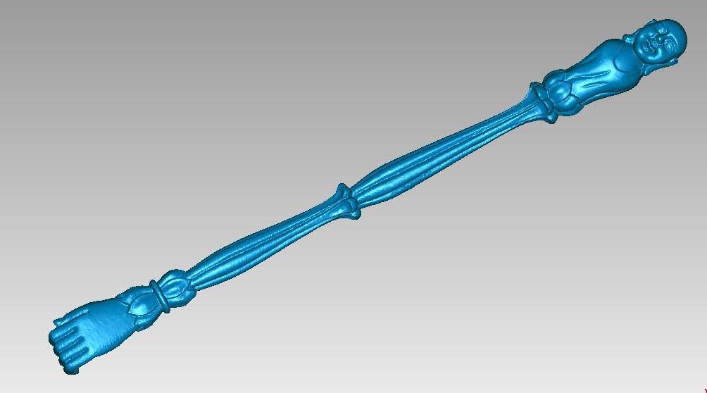 佛杖 3D打印模型渲染图