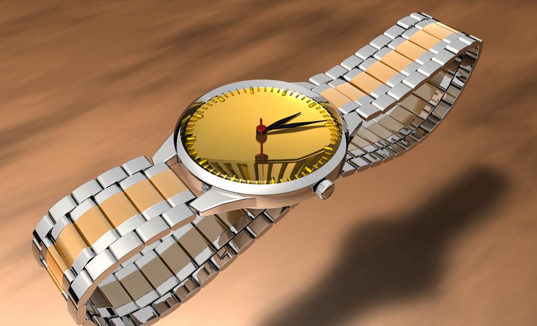 手表-C4D模型