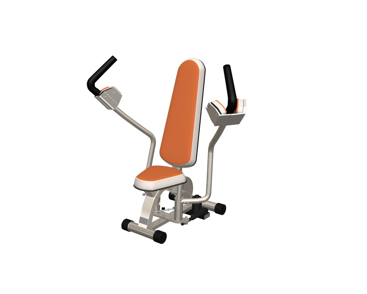 健身器材8 3D打印模型渲染图