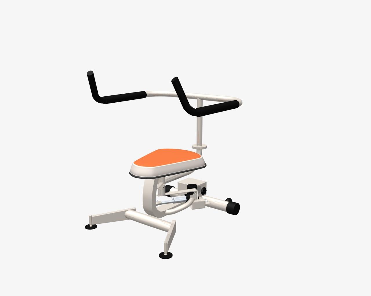 健身器材11 3D打印模型渲染图
