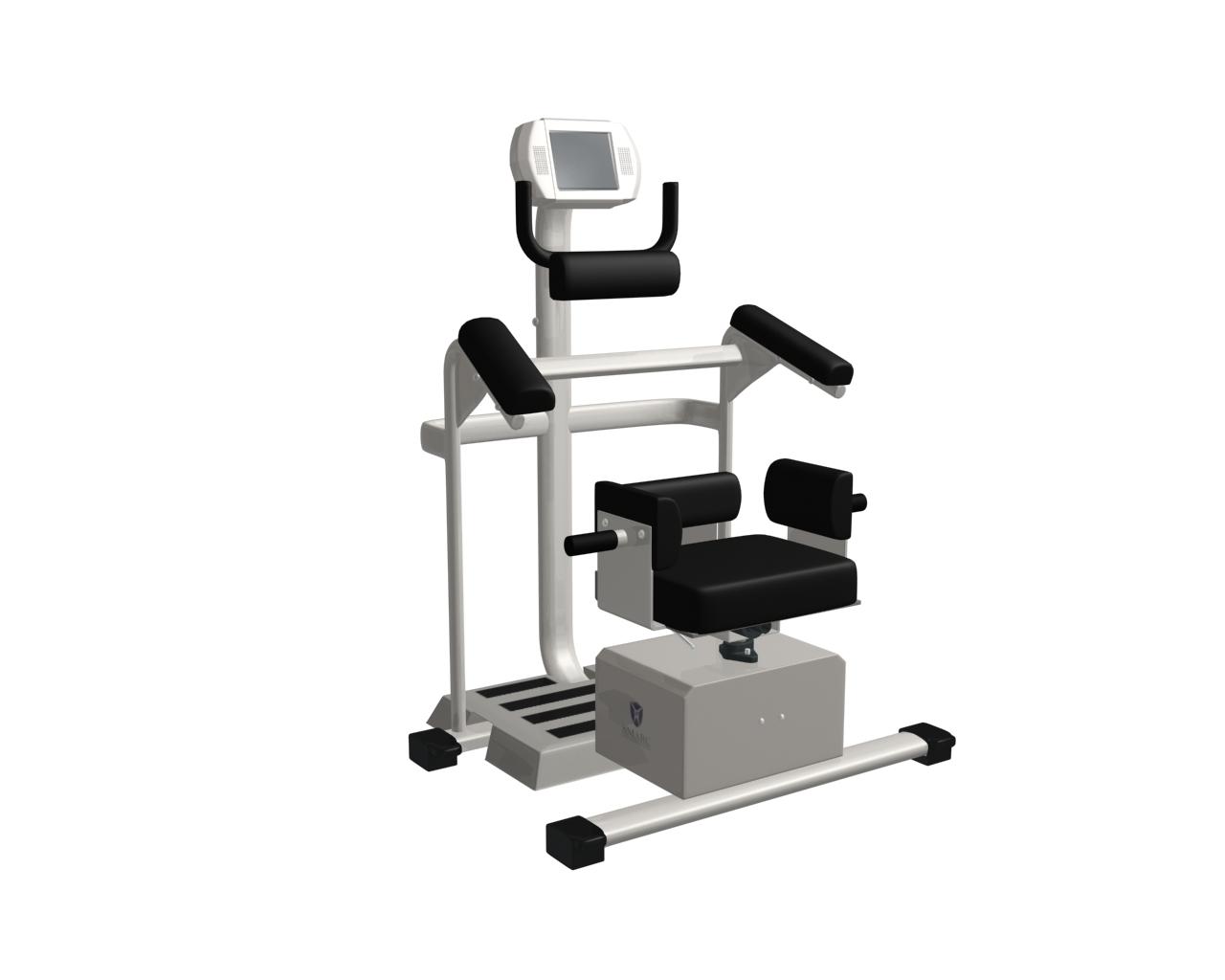 健身4 3D打印模型渲染图