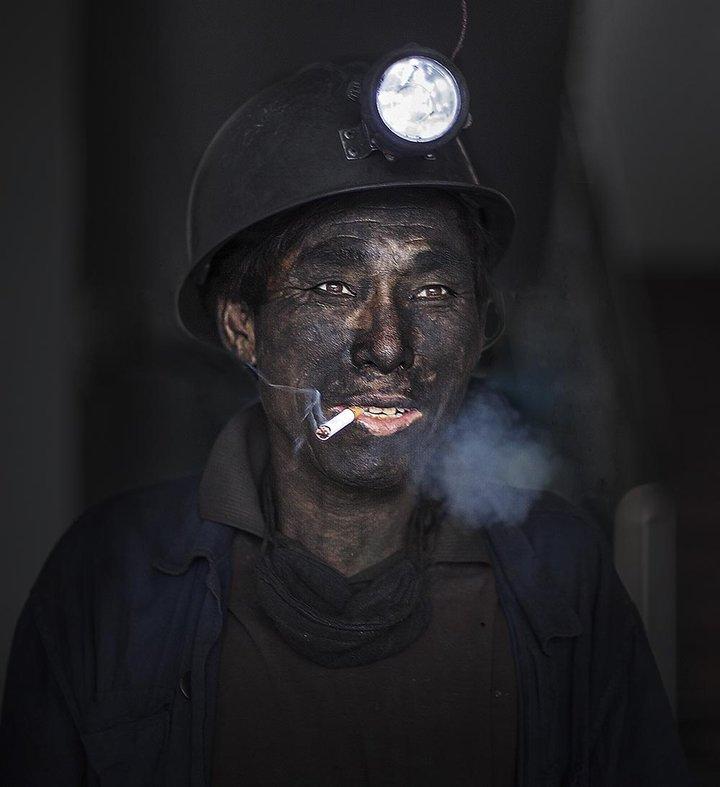 煤炭 矿工 人物形象 3D打印模型渲染图