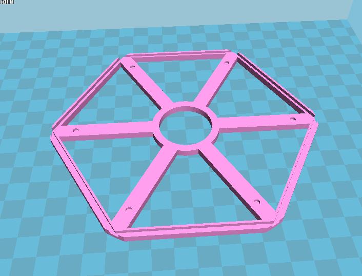 灯罩架 3D打印模型渲染图