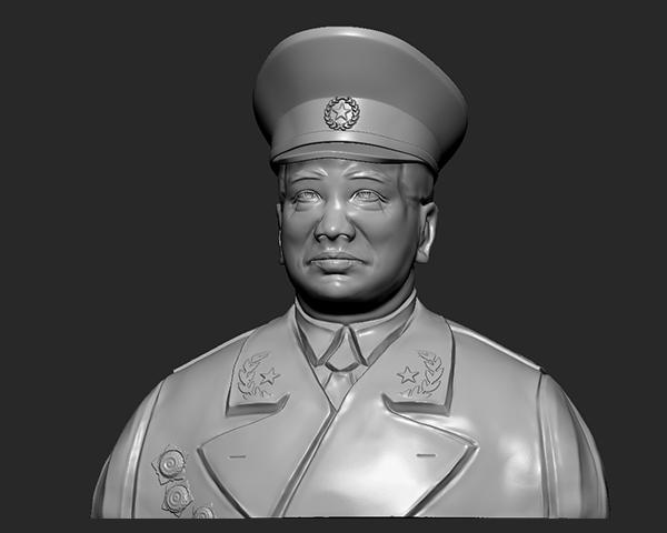 十大元帅 之 彭德怀 半身雕塑