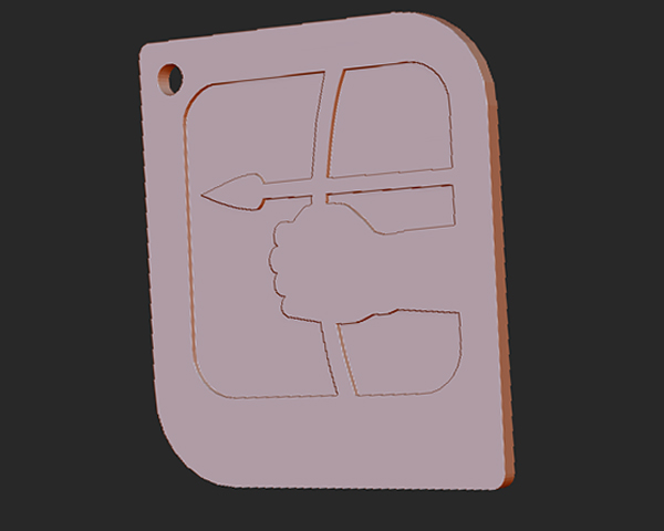 十二星座 系列 之 射手座 3D打印模型渲染图