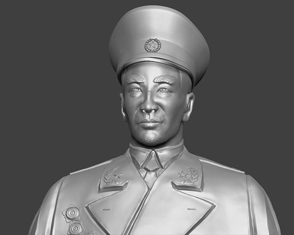 十大元帅 之 林彪 半身雕塑