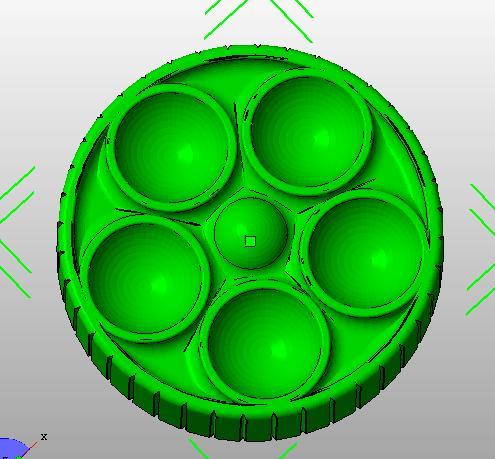 12846LCD 圆孔旋扭