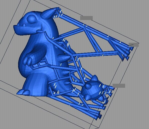 小恐龙 3D打印实物照片