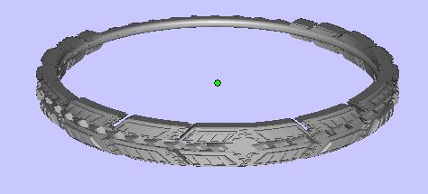 魔戒 3D打印模型渲染图