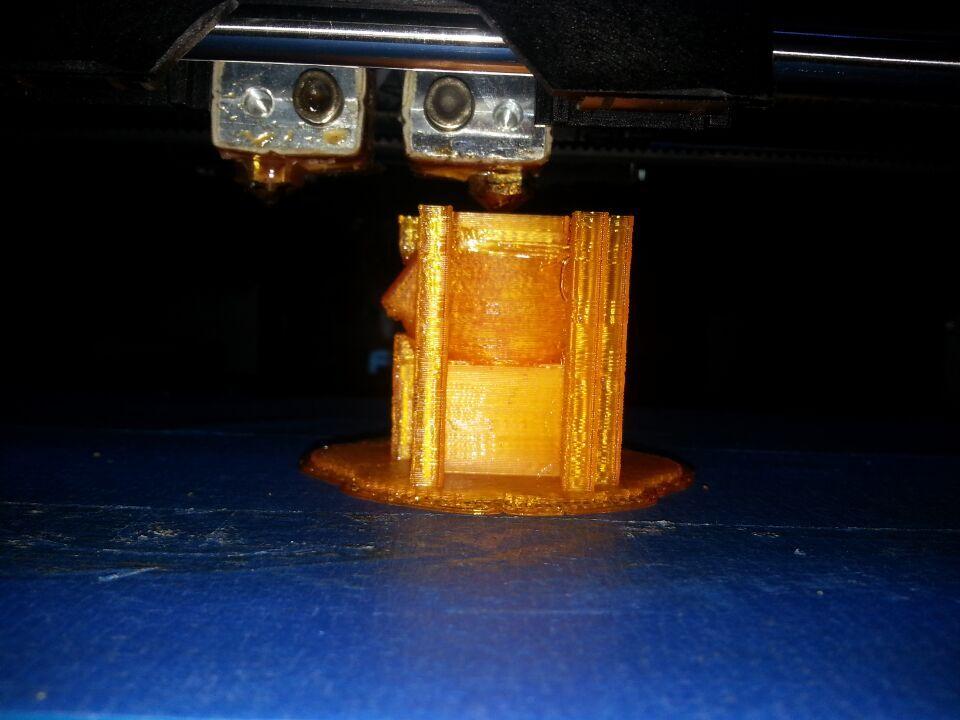 打印测试 派派 3D打印模型渲染图