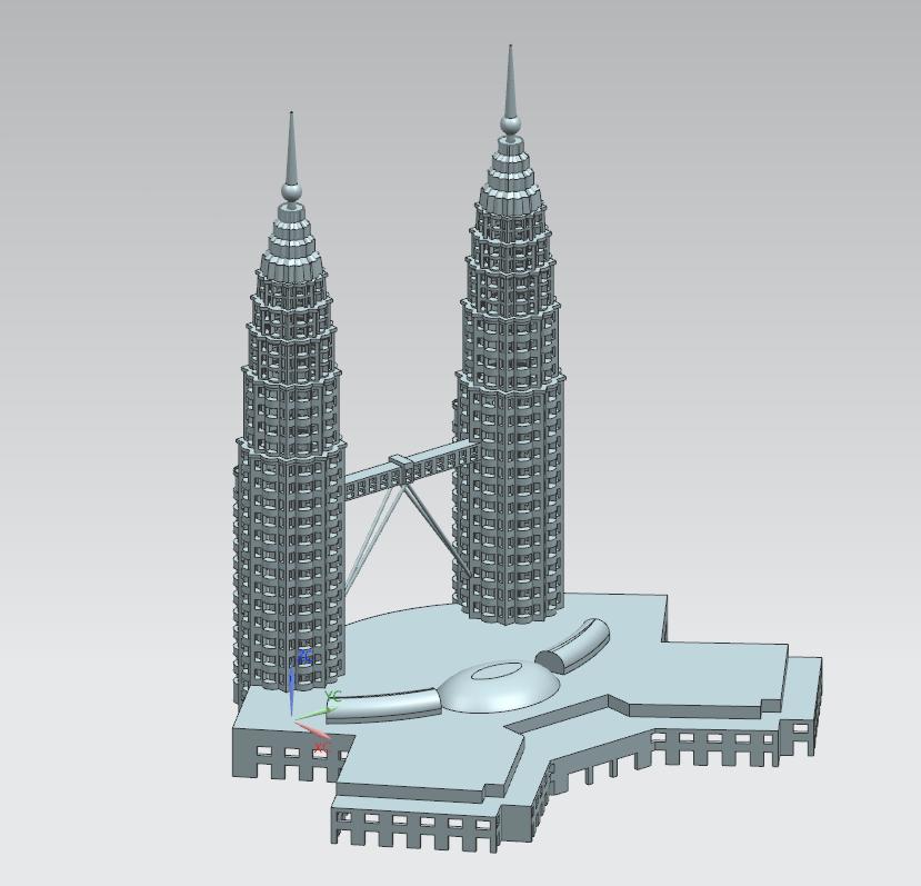 马来西亚双子塔