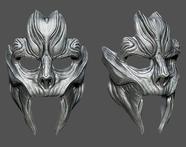 骷髅王面具