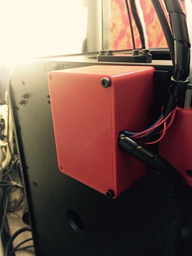 电路盒 3D打印模型渲染图
