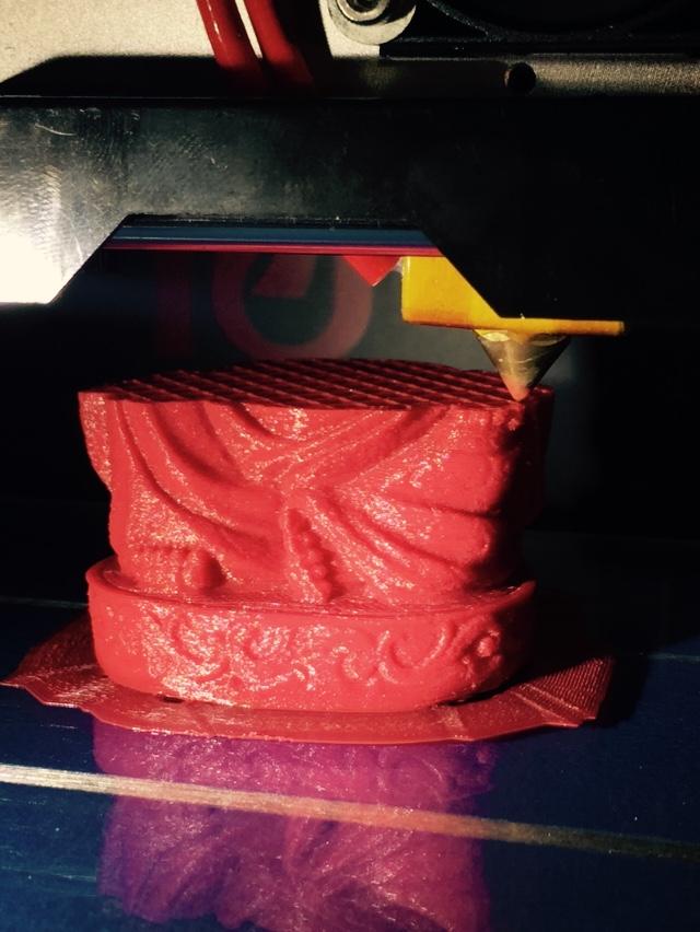 金正恩佛像 3D打印模型渲染图