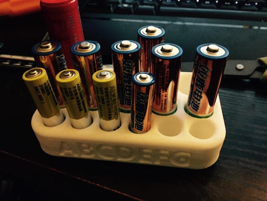 电池架子,电池待命架 3D打印模型渲染图