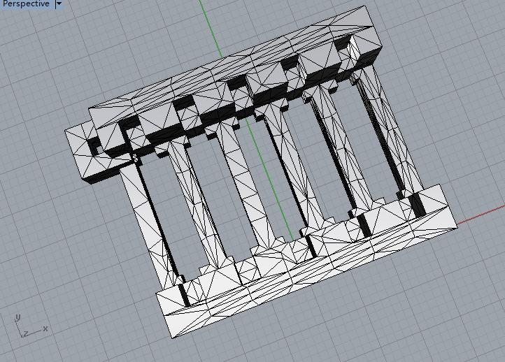 FTO玻璃清洗架子 3D打印模型渲染图