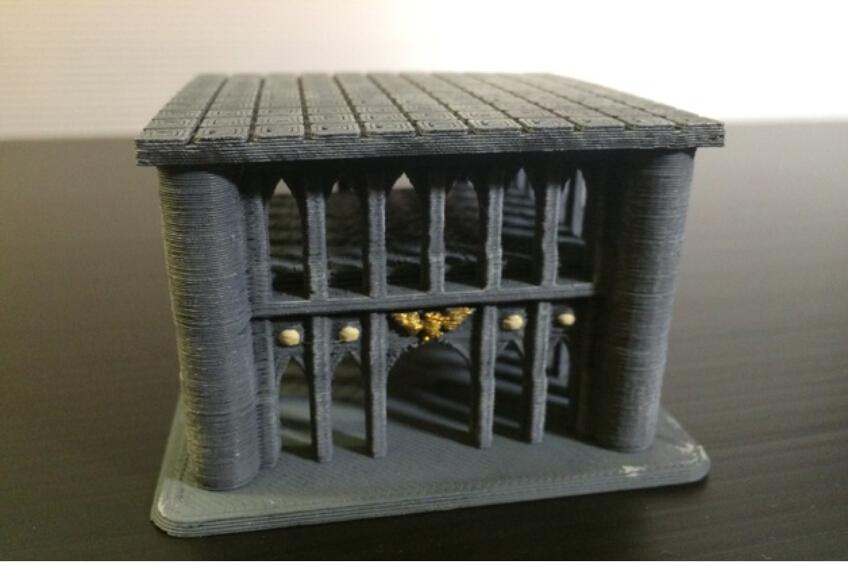 3D打印房子 3D打印模型渲染图