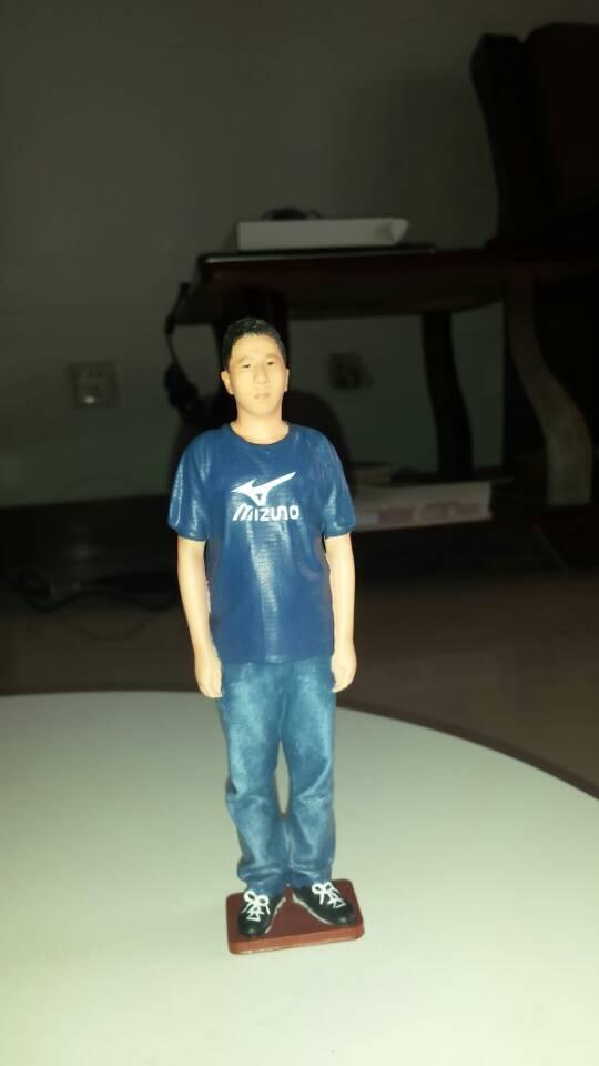 自信真我 3D打印模型渲染图