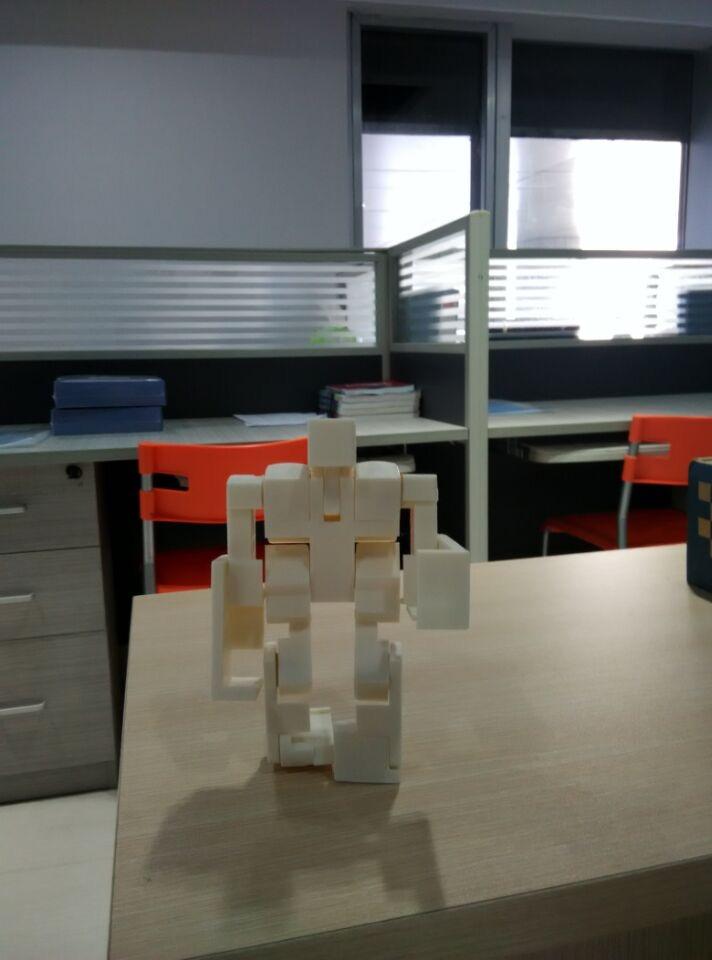 魔方机器人 3D打印图片