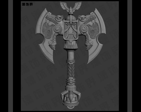 战锤中的一斧头