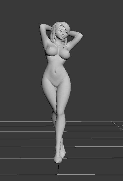 裸体卡通MM