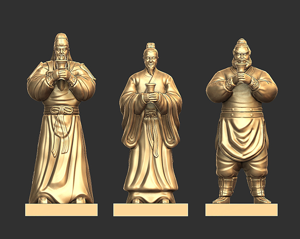 三国演义桃园结义——结拜祭台