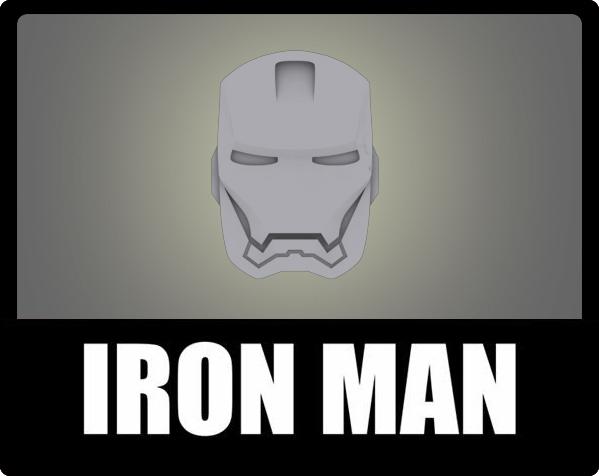 复仇者联盟 钢铁侠头像 挂件 冰箱贴