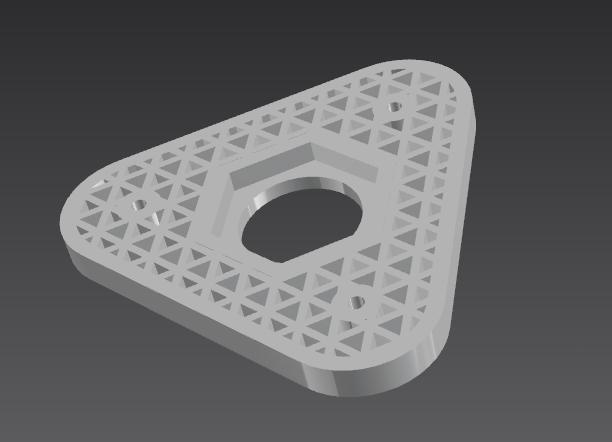 自制3d打印耗材架