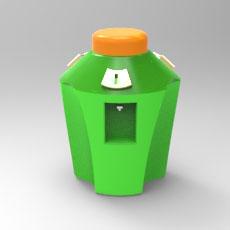 榨汁机 3D打印模型渲染图