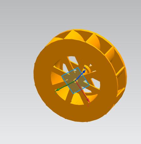 活动的轮轴 3D打印模型渲染图
