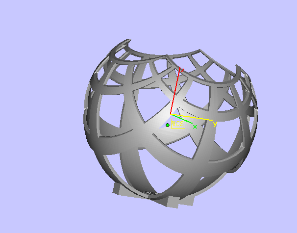 艺术品 3D打印模型渲染图