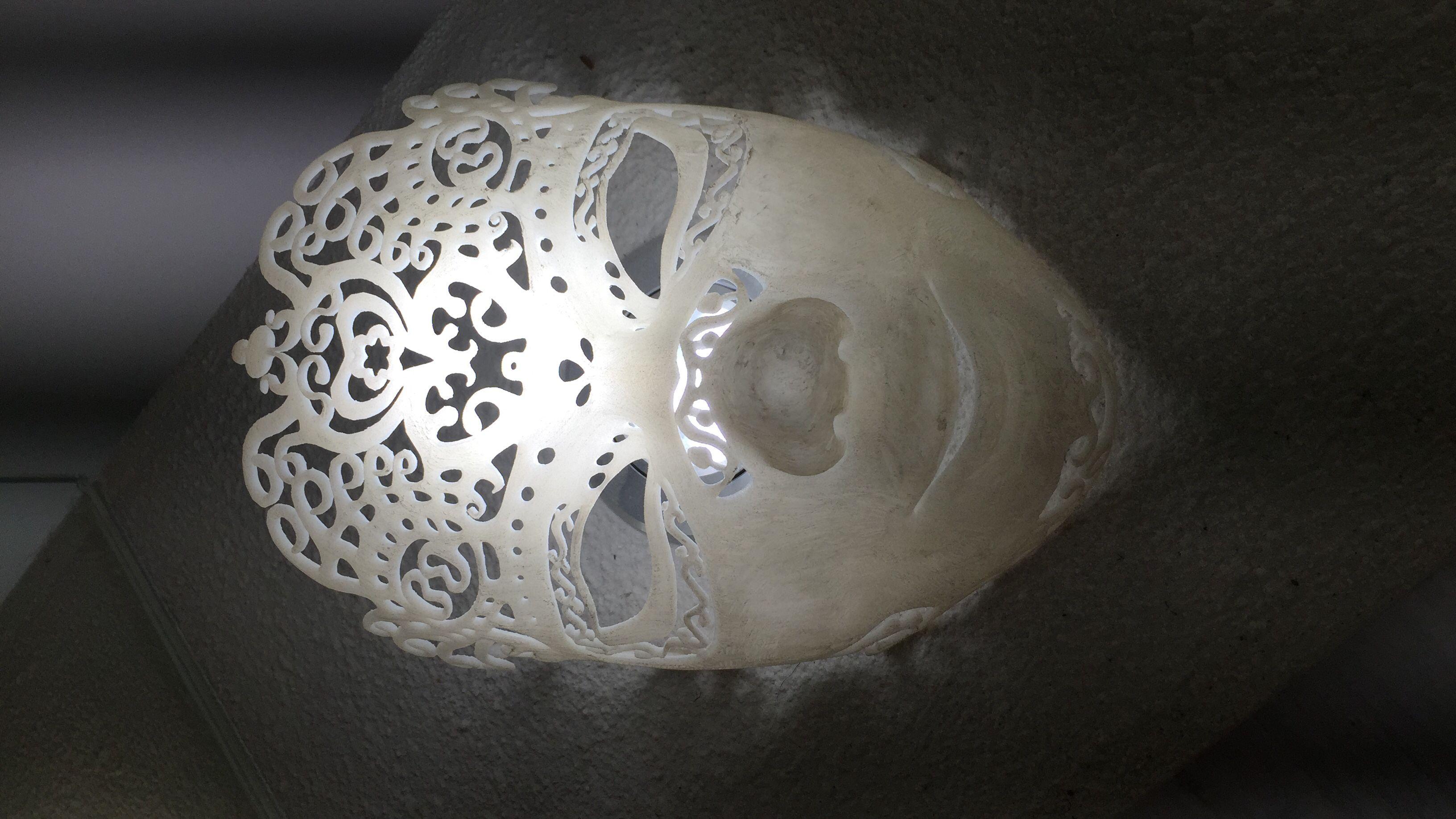 3D打印面具 3D打印模型渲染图
