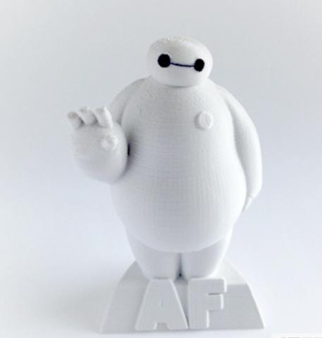 大白 3D打印模型渲染图