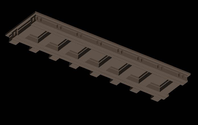 中式轻钢雨棚