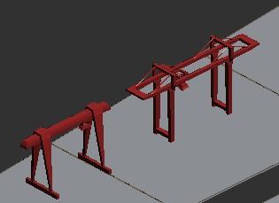 自己项目的小品构件 3D打印模型渲染图