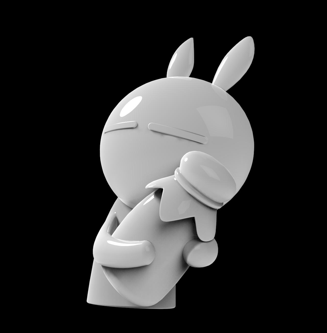 兔斯基玩偶