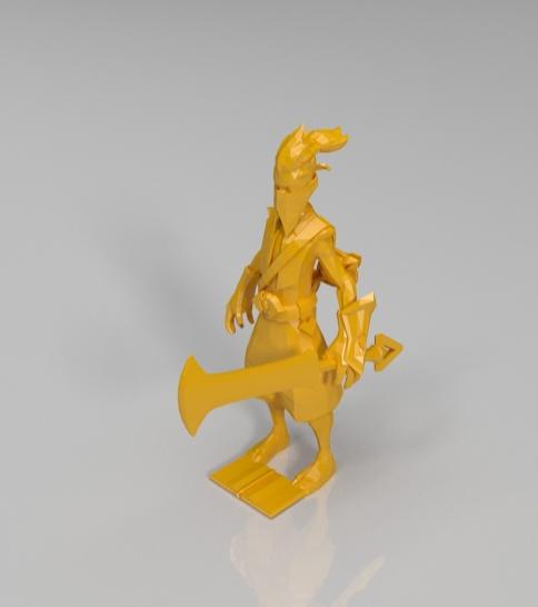 LOL英雄模型(陆续更新) 3D打印模型渲染图