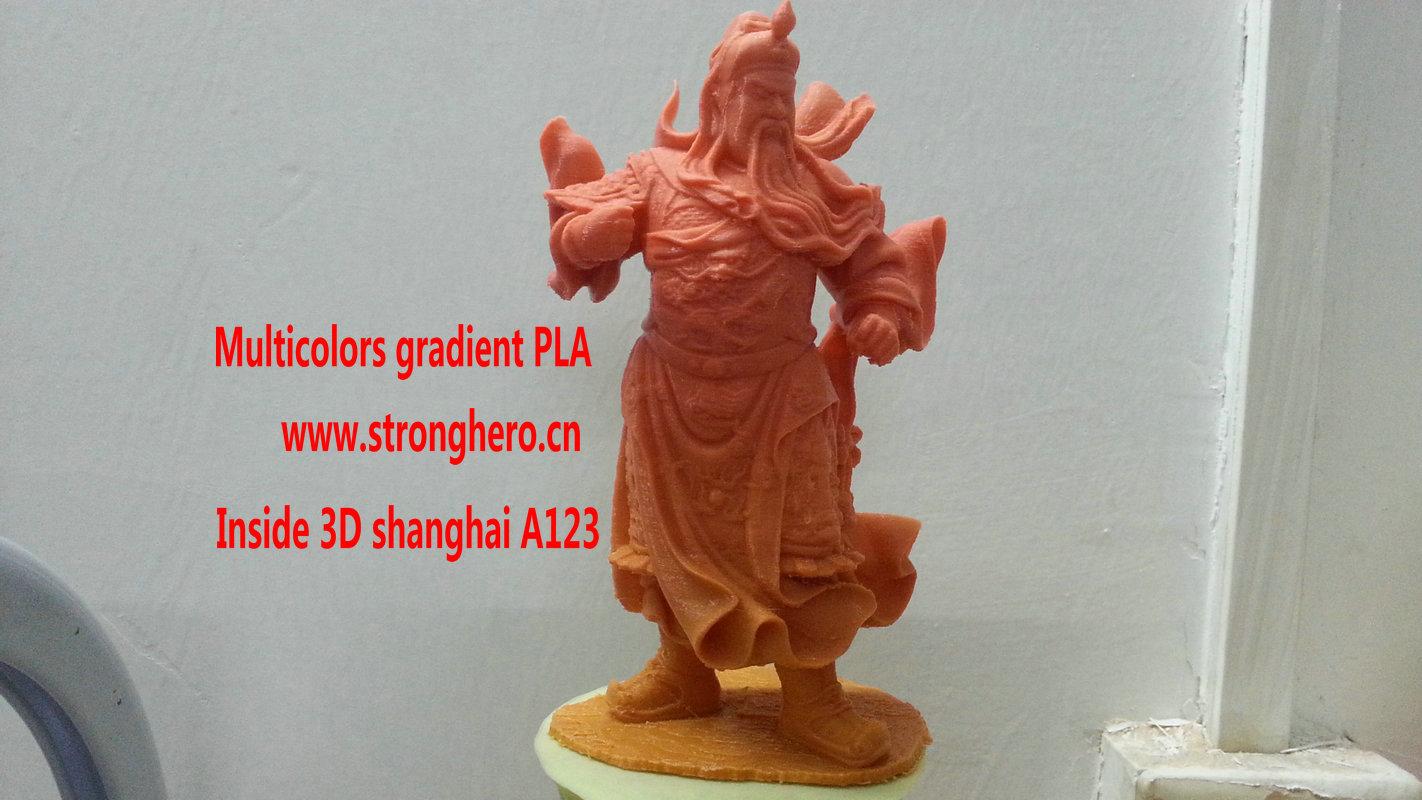 关公 3D打印模型渲染图