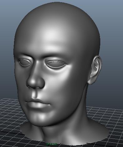 外国人 3D打印模型渲染图