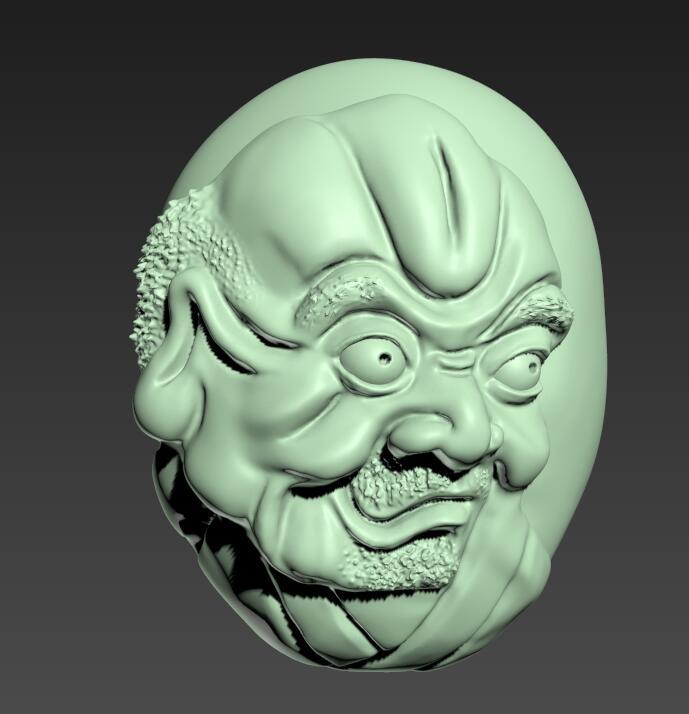 十八罗汉4 3D打印模型渲染图