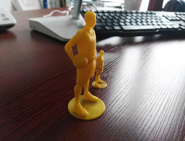 《灌篮高手》——樱木花道 3D打印实物照片