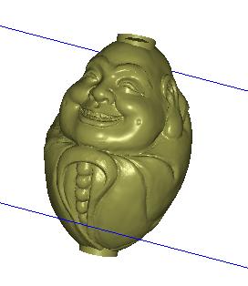 笑口开 3D打印模型渲染图