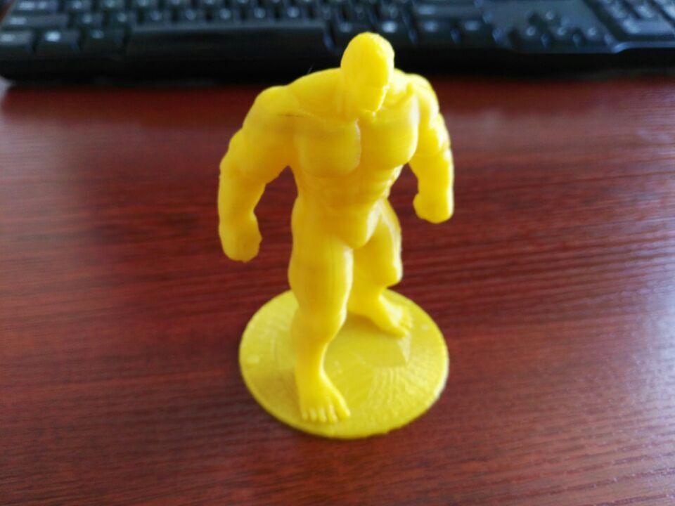 复仇者联盟 绿巨人浩克 Hulk 3D打印实物照片