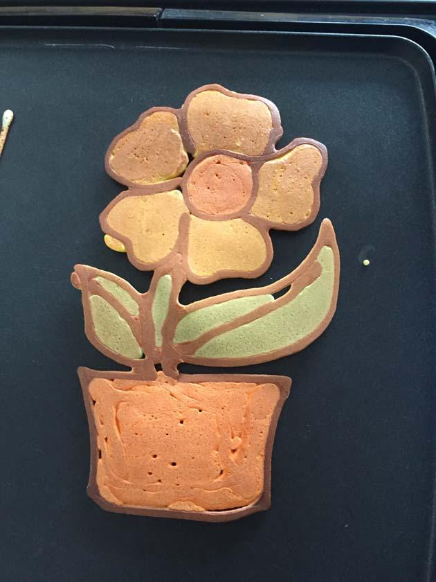 煎饼打印机 花盆造型 煎饼 3D打印图片