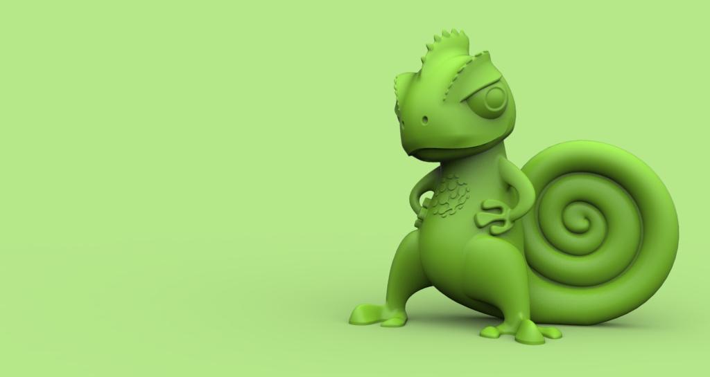 可愛的小蜥蜴