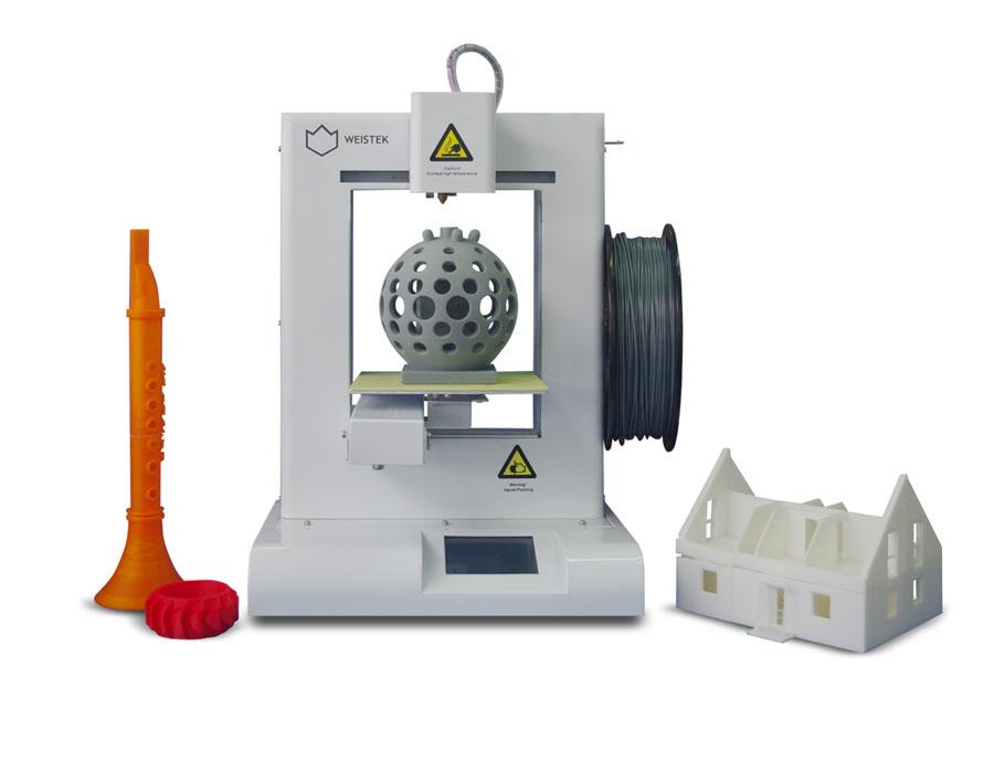 维示泰克3D打印机金属机身桌面级IdeaWerk WT200 3D打印机设备
