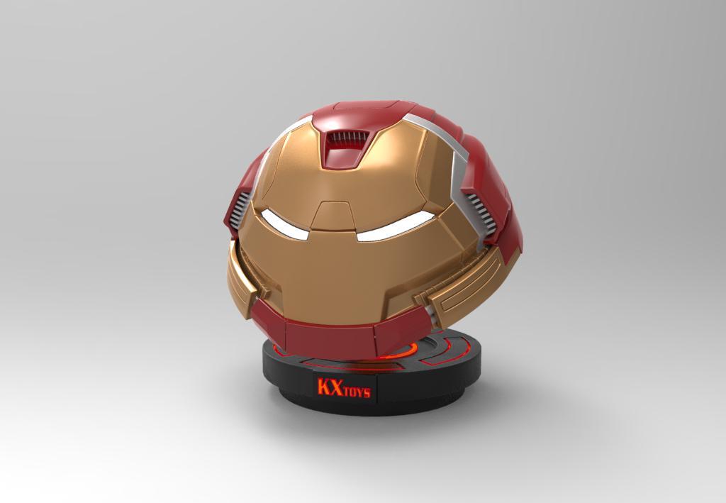 钢铁侠反浩克装甲头盔