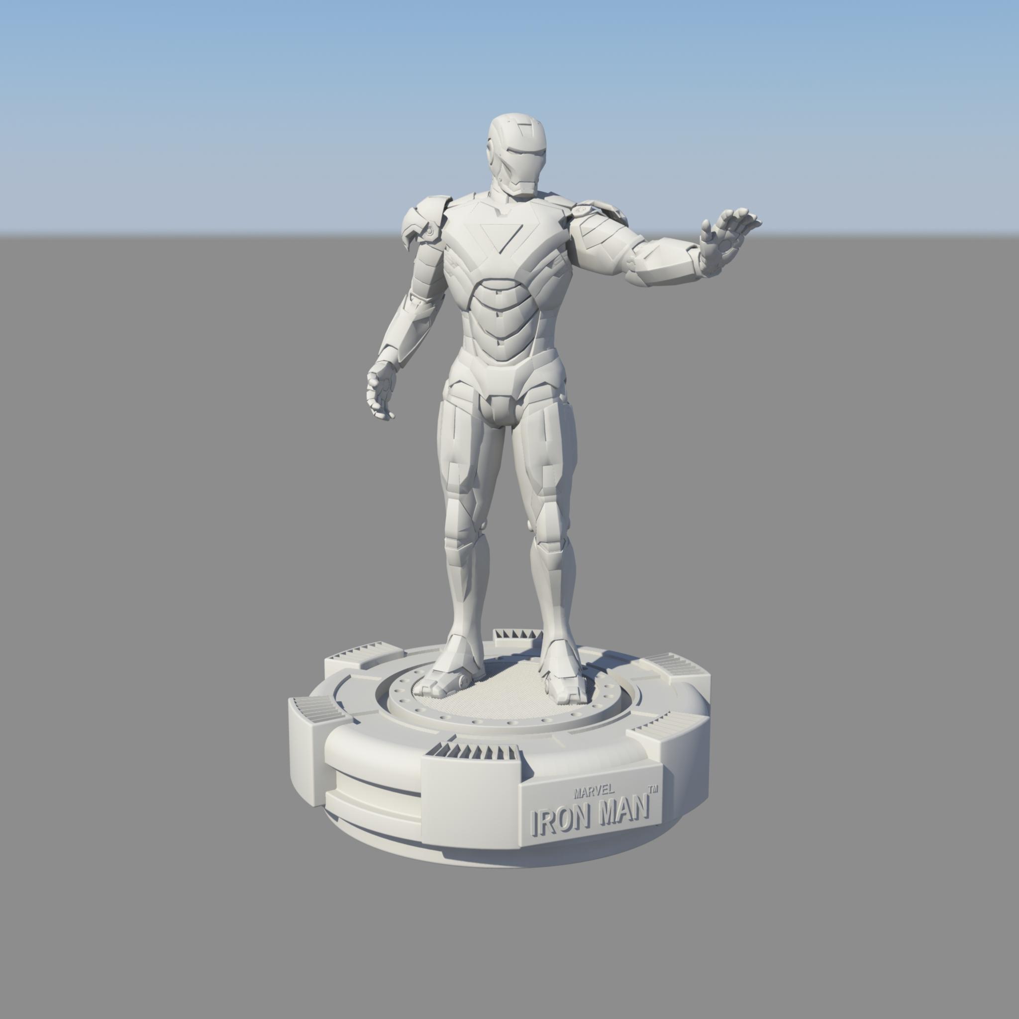 钢铁侠手办摆件002