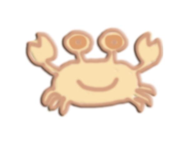 蟹 3D打印模型渲染图